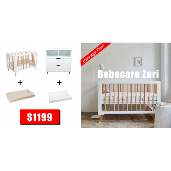Bebe Care Zuri Cot Package