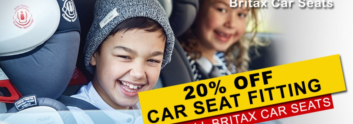 Britax Safe-n-Sound Car Seat Fitting Promotion