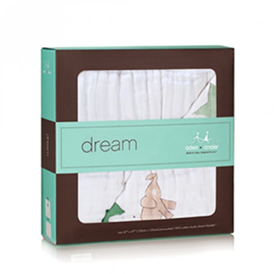 Aden & Anais Lage Cotton Muslin Dream Blanket