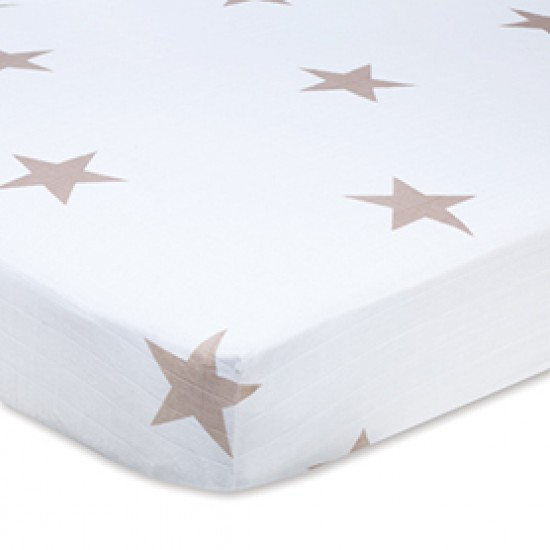 Aden & Anais Super Star Scout Fawn Star Classic Cot Sheets