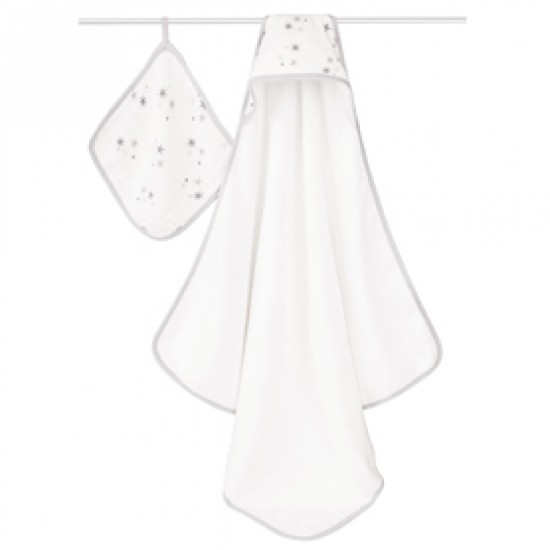 Aden +  Anais twinkle hooded towel sets