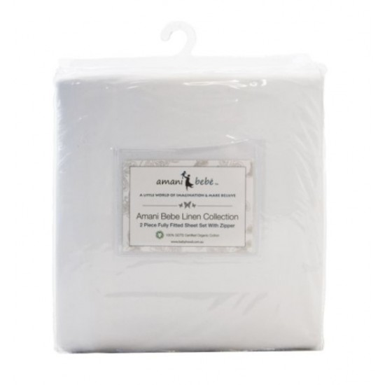 Amani Bebe - 100% GOTS Certified Organic Cotton Sheet Set