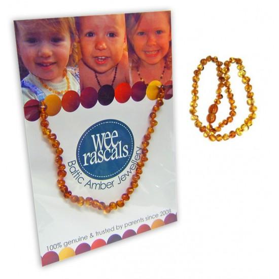 Amber Infant Necklace