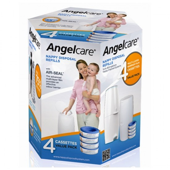 Angelcare Refill Quad Cassettes