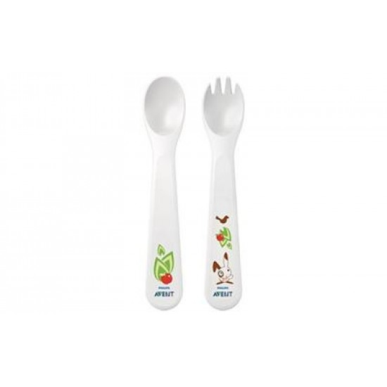 Avent Babys first spoon and fork