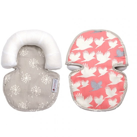 Babychic Infant Head Support - Blush Dove