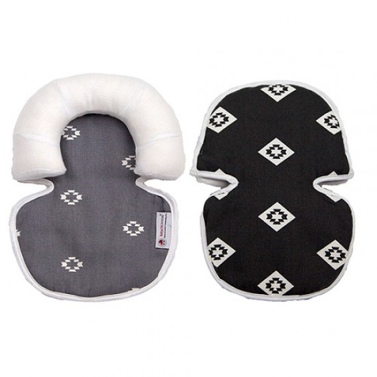 Babychic Infant Head Support - Monochrome Aztec
