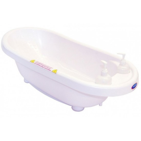 Babyhood Bubble Tub - White
