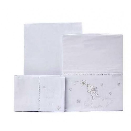 Bubba Blue - Wish Upon A Star - Cot Sheet Set