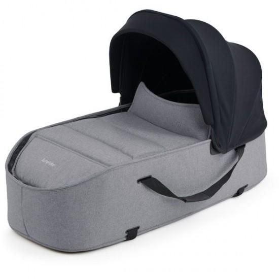 Bumprider Connect Deluxe Carrycot - Grey Melange