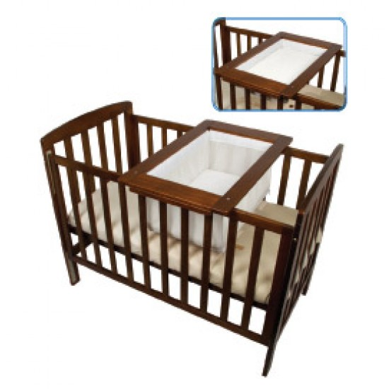 Childcare Universal 2 in 1 Cradle Changer - Walnut
