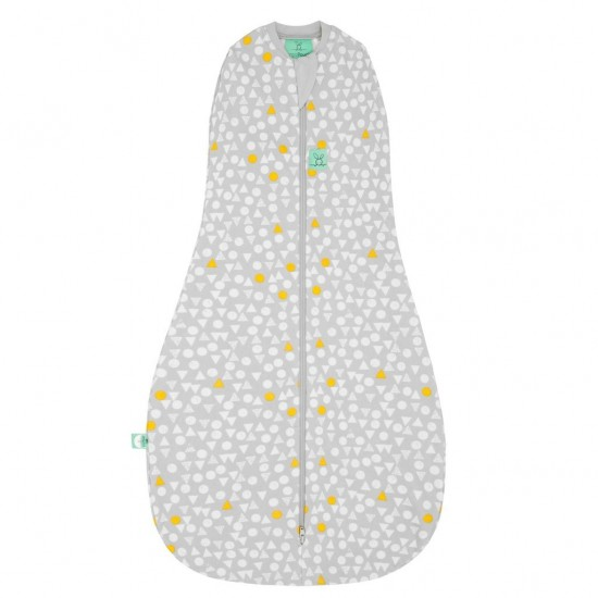 Cocoon Swaddle + Sleep Bag (0.2 tog) - Triangle Pops