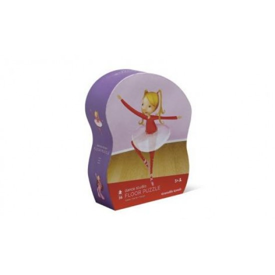 Dance Studio Shaped Box Floor Puzzle by Crocodile Creek
