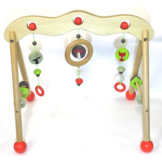 DISCOVEROO Baby Play Gym: Woodland Adventure
