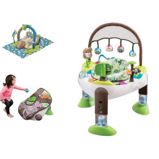 Evenflo Exersaucer Triple fun Treehouse