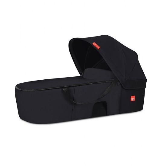 GB Cot To Go Bassinet for Qbit+ Pockit+ Stroller- Satin Black