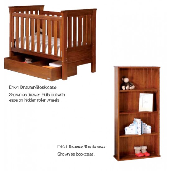 Gro Time 2 in 1 Drawer/ Bookcase