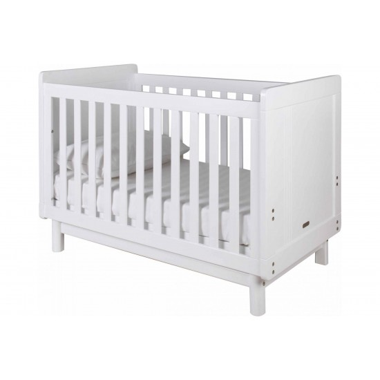 Grotime Scandi Cot in White