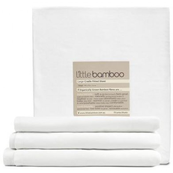 Little Bamboo Cradle Fitted Sheet