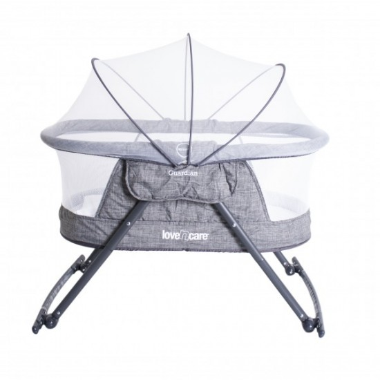 Love n Care Guardian Cradle Grey