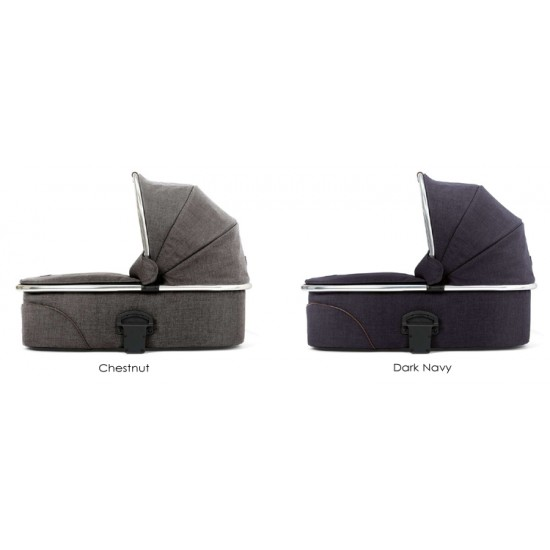 Mamas & Papas Urbo2 Tweed Chrome Carrycot