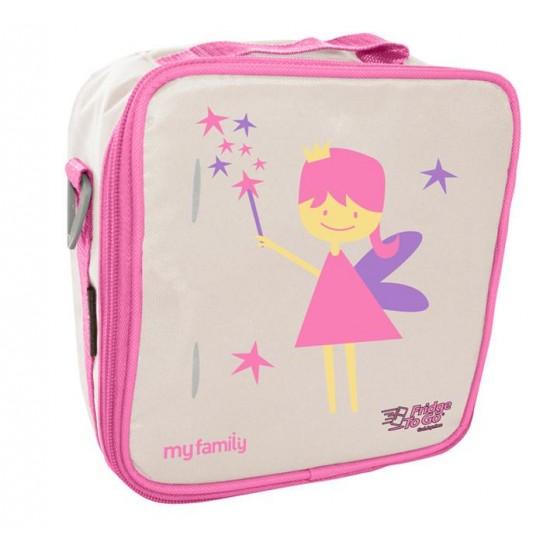 My Family Fridge To Go Insulated Lunch Bag Box- Fairy
