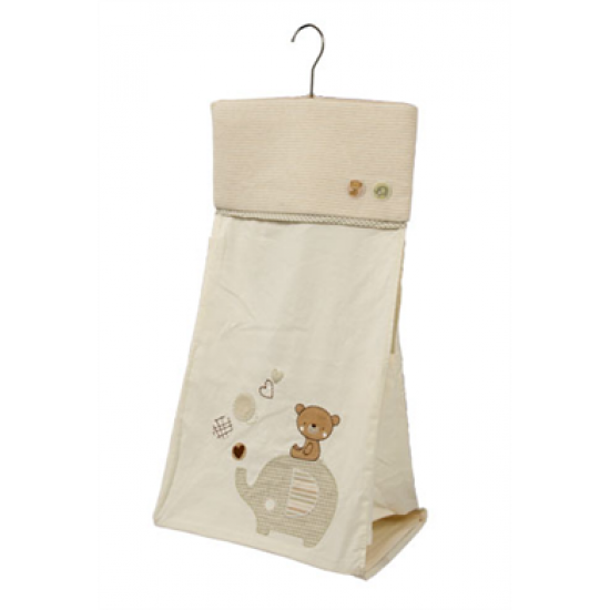 Natures Purest Teddy & Ele Nappy Stacker