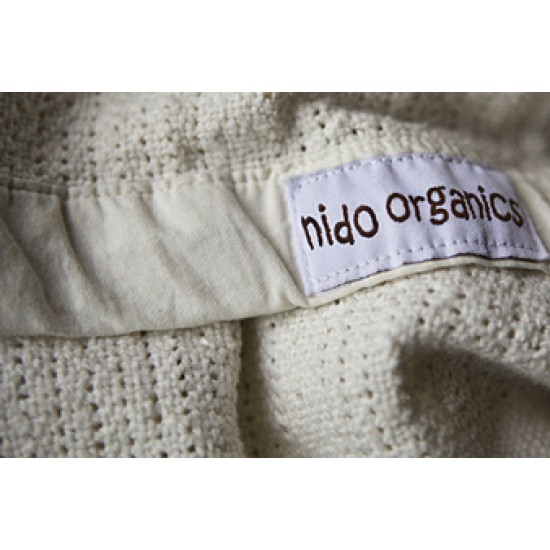 Nido Organic Cellular Blanket- Bassinet