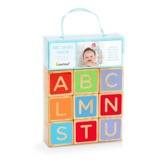 Pearhead ABC Photo blocks