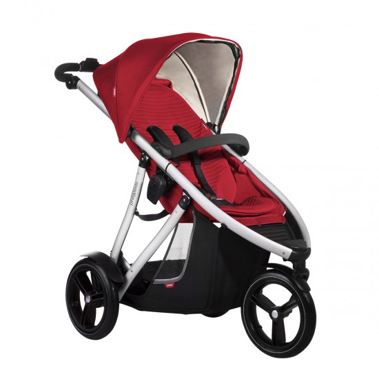 Phil & Teds Vibe Luxury Buggy Cherry Red* Limited Stock