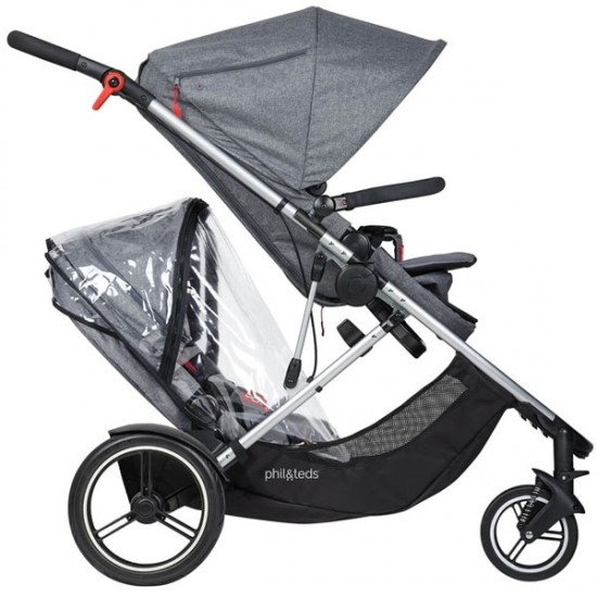 Phil&Teds Voyager Double Kit Storm Cover