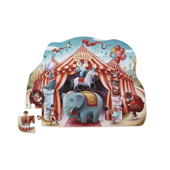 Pirates Shaped Box Floor Puzzle by Crocodile Creek