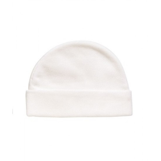 Playette Essentials 3pk Preemie Caps - White