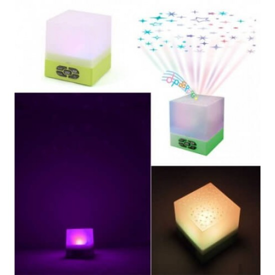 Playette Star Glow Cube