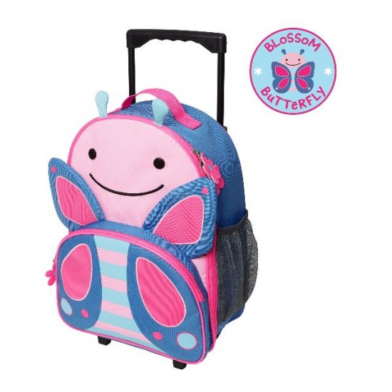 Skip Hop Zoo Kids Rolling Luggage - Lady Bug