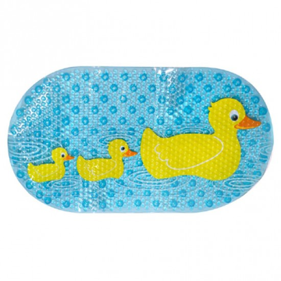 Star & Rose Non-slip Bath Mat - Duck Ducky Duckiest