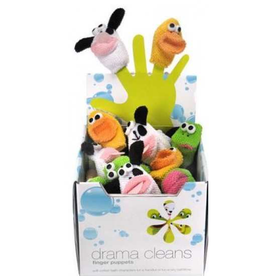 Star&Rose Drama Cleans Finger Puppets *Free Delivery*