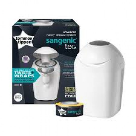 Tommee Tippee Sangenic TEC Nappy Disposal Bin Unit
