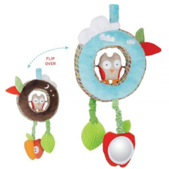 Treetop Friends Discovery Toy - Day & Night Owl