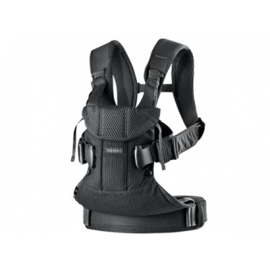 BabyBjorn Baby Carrier One Air - Black (3D Mesh)
