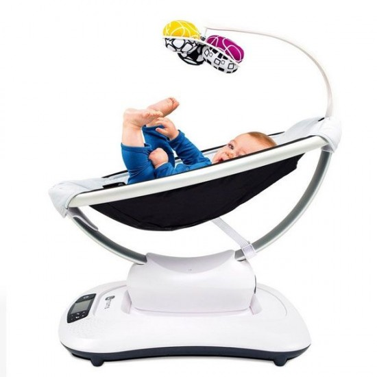 4moms Mamaroo V4.0 Silver Plush ( Latest Release)