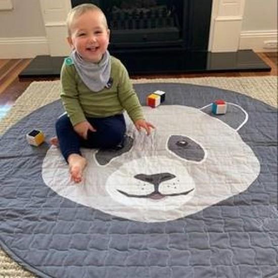 All4Ella Panda Playmat (120cm diameter)