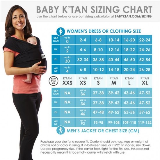 Baby K'Tan Carrier - Breeze