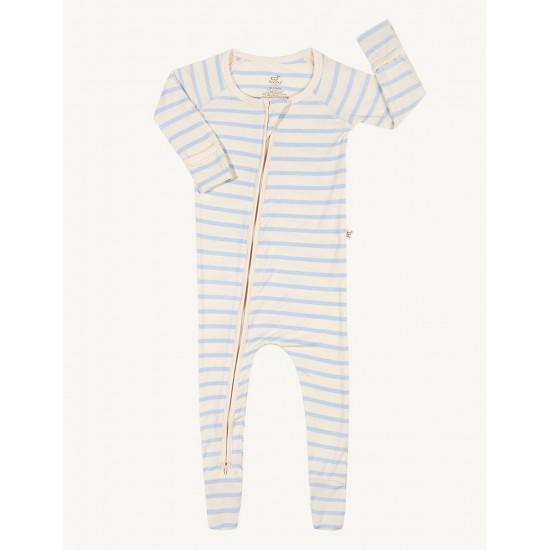 Boody Baby Stripe Long Sleeve Onesie