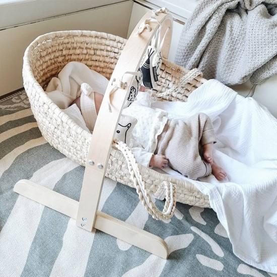 Childhome Corn Husk Moses Basket