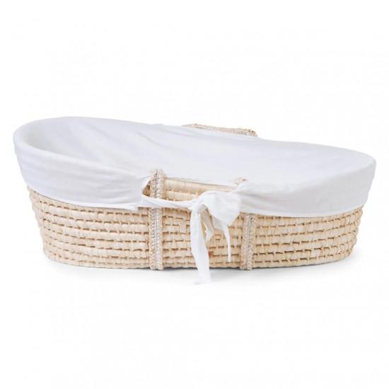 Childhome Corn Husk Moses Basket Insert Cover