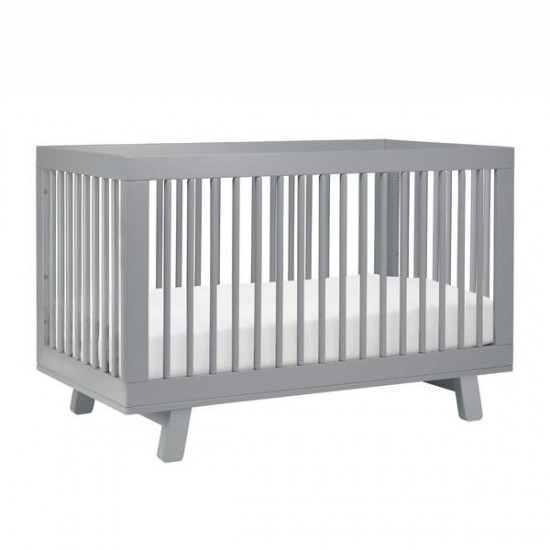 Babyletto Hudson Cot with Toddler Bed Conversion Kit