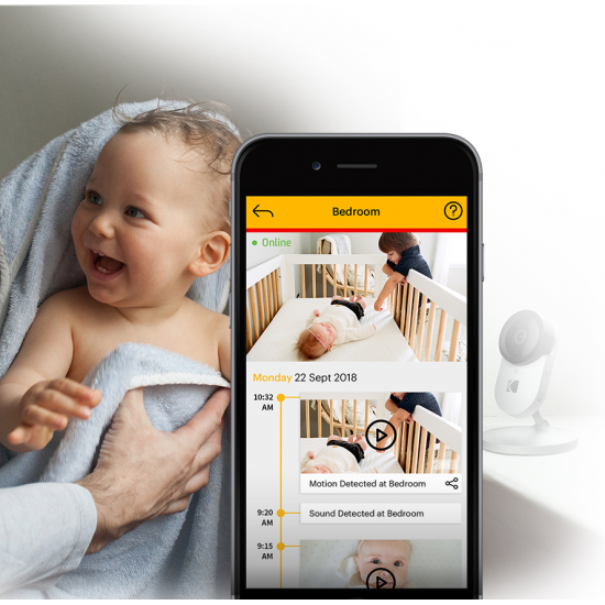Kodak Cherish C220 2.8inch Smart Video Baby Monitor