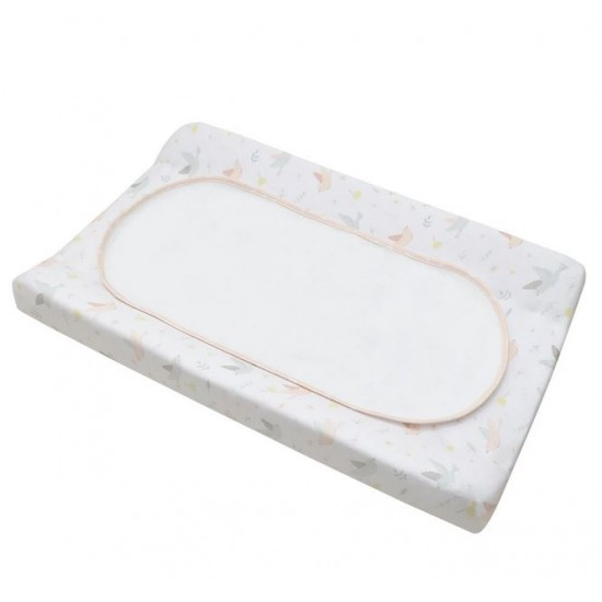 Living Textiles Change Pad Cover & Liner - Ava