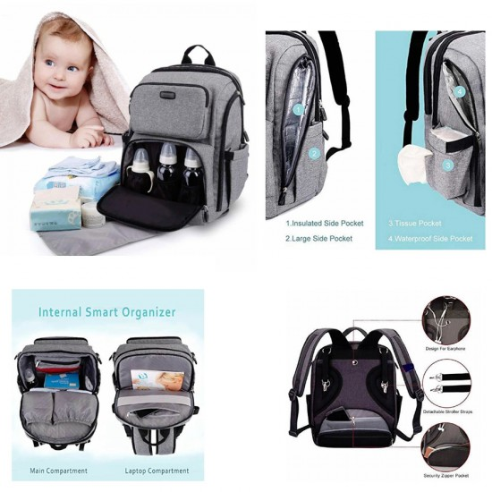 La TASCHE Iconic Backpack Nappy Bag